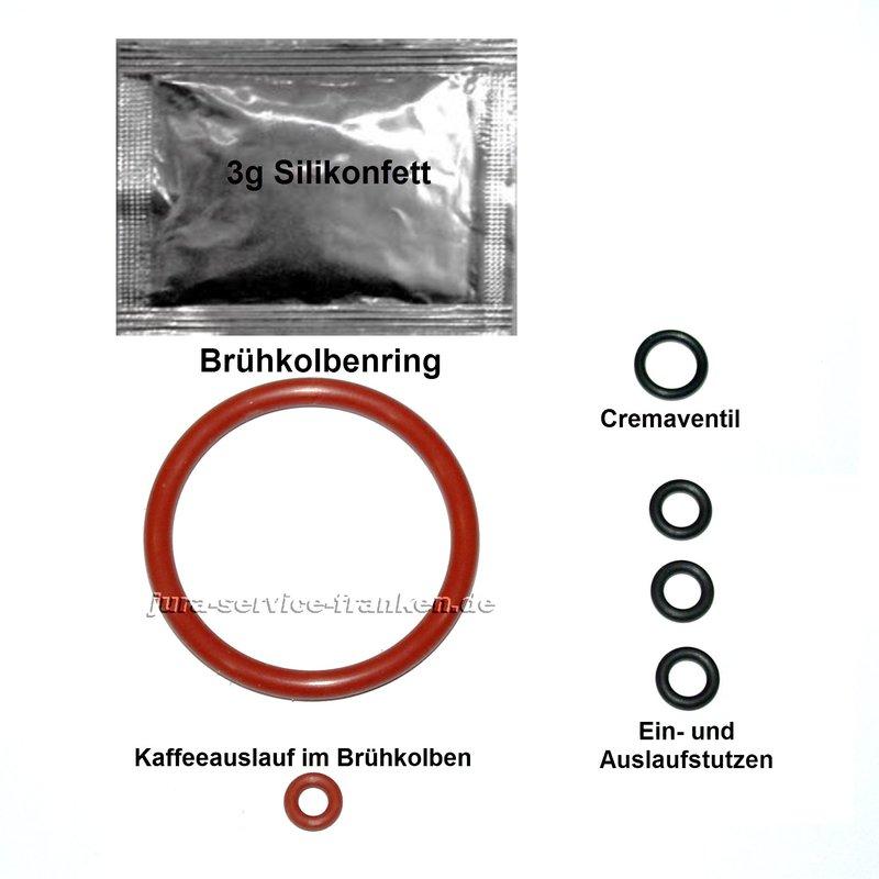 Siemens Eq 7 Ersatzteile: Wartungsset Brühgruppe Für Siemens EQ5 / EQ6 / EQ7 / EQ8